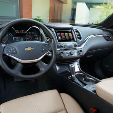 2018 Chevy Impala Dash