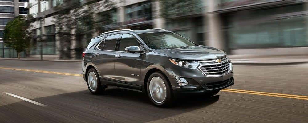 2018 Chevy Equinox Silver Side