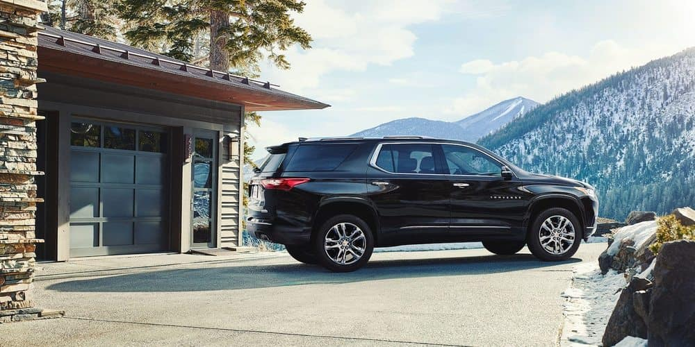 2018 Chevy Traverse Black