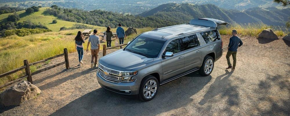 2019 Chevy Suburban Camping
