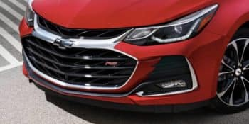 2019 Chevrolet Cruze Hatchback RS front end