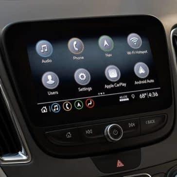 infotainment screen in 2019 Chevrolet