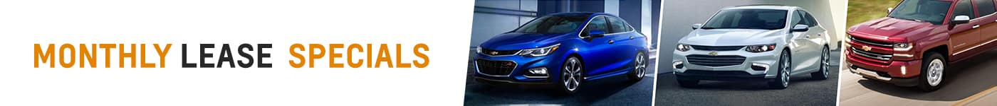 Monthly Lease offers at Tom Gill Chevy