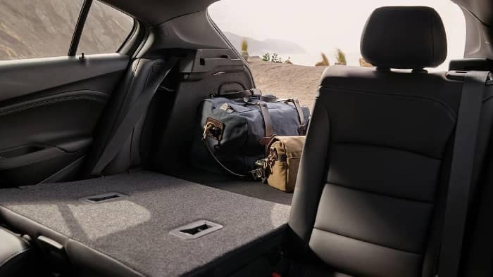 cargo space in 2019 Chevrolet Cruze
