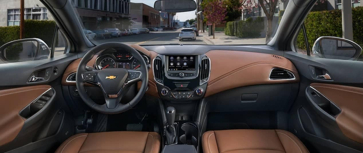 interior cabin of 2019 Chevrolet Cruze