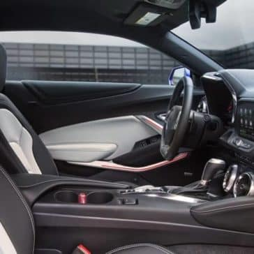 interior cabin of 2019 Chevrolet Camaro
