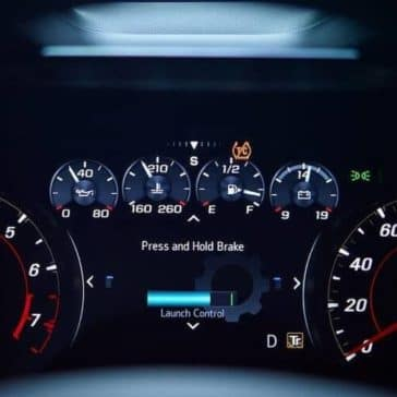 driver information guages in 2019 Chevrolet Camaro