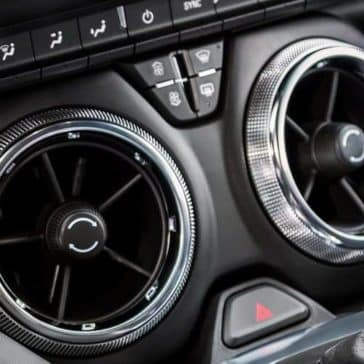 2019 Chevrolet Camaro air vents