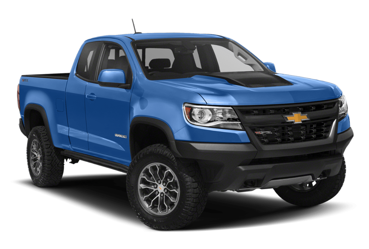 2019 Chevrolet Colorado 2WD Extended Cab in Blue