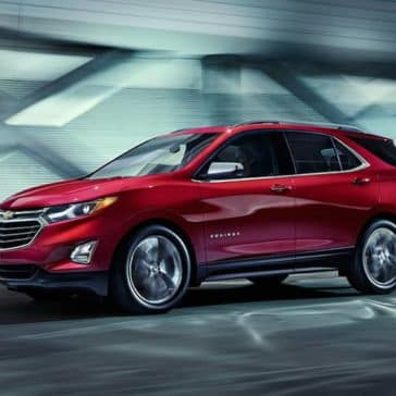 2019 Chevrolet Equinox in parking garage