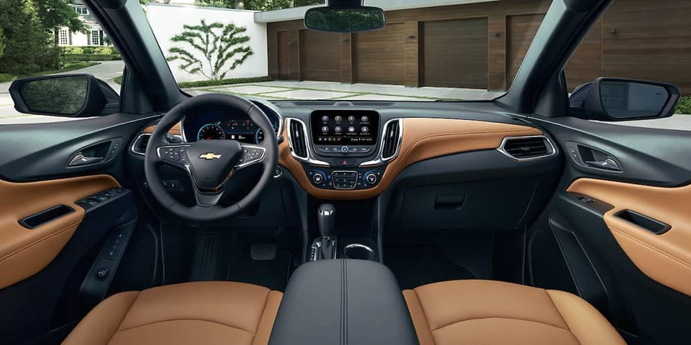 dashboard of 2019 Chevrolet Equinox