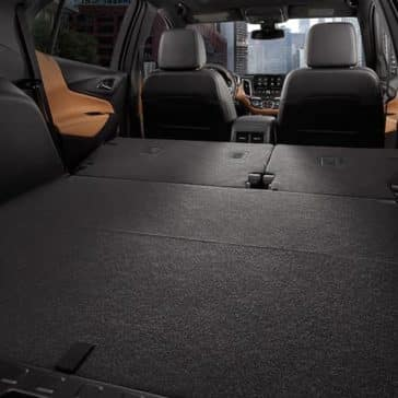 rear folding seats in 2019 Chevrolet Equinox