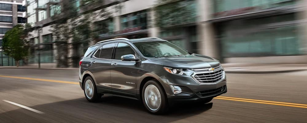 2019 Chevrolet Equinox driving down a street