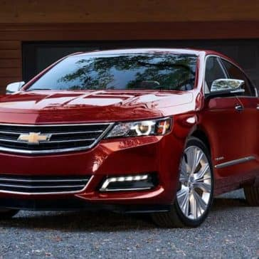 2019 Chevrolet Impala parked in driveway