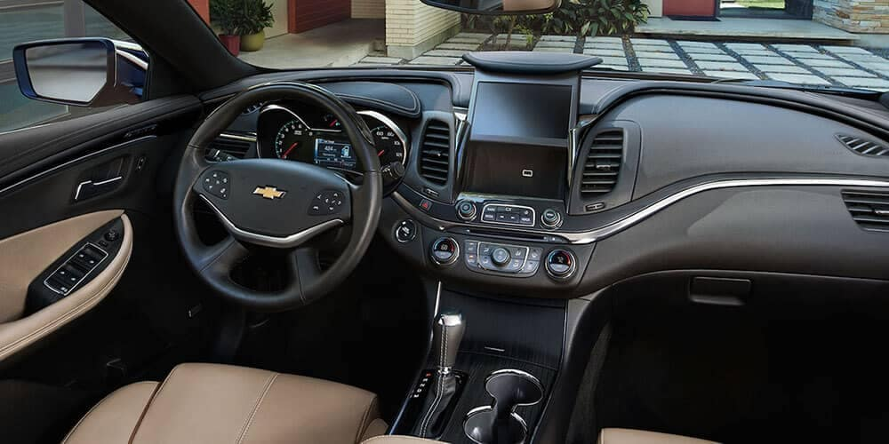 dashboard of 2019 Chevrolet Impala