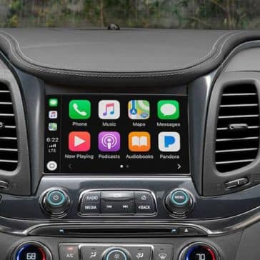 infotainment in 2019 Chevrolet Impala