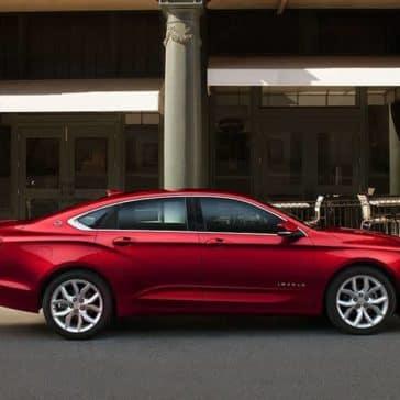 parked 2019 Chevrolet Impala