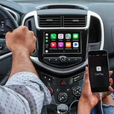 apple carplay in 2019 Chevrolet Sonic