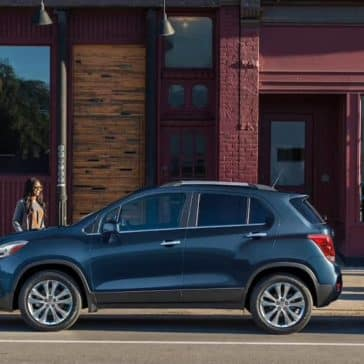 2019 Chevy Trax Parked