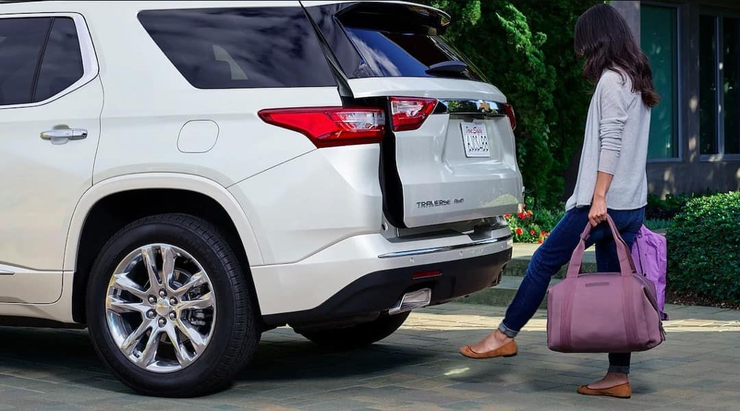 2020 Chevy Traverse Liftgate