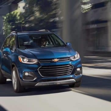 2019 Chevy Trax Driving