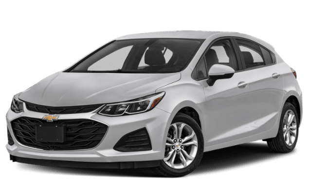 2019 Chevy Cruze with a gray exterior