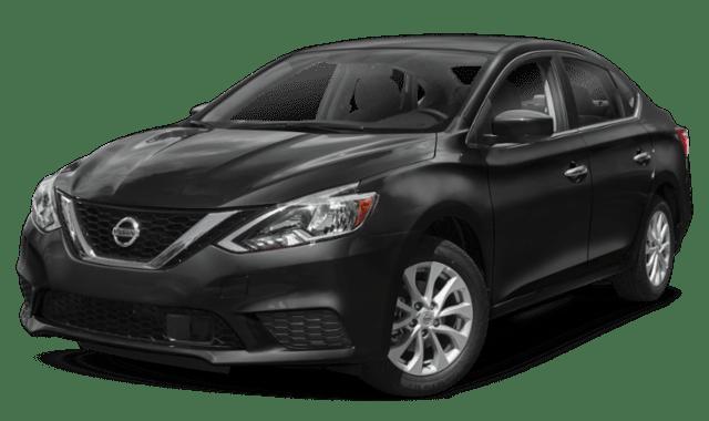 2019 Nissan Sentra in Black 2