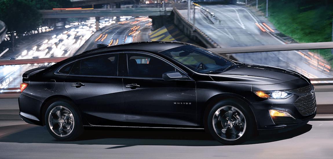 2019 Chevy Malibu in black