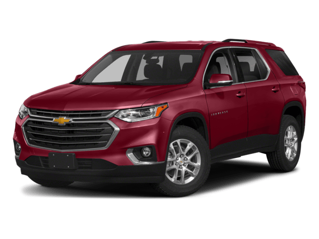 2019 Chevy Traverse in Red