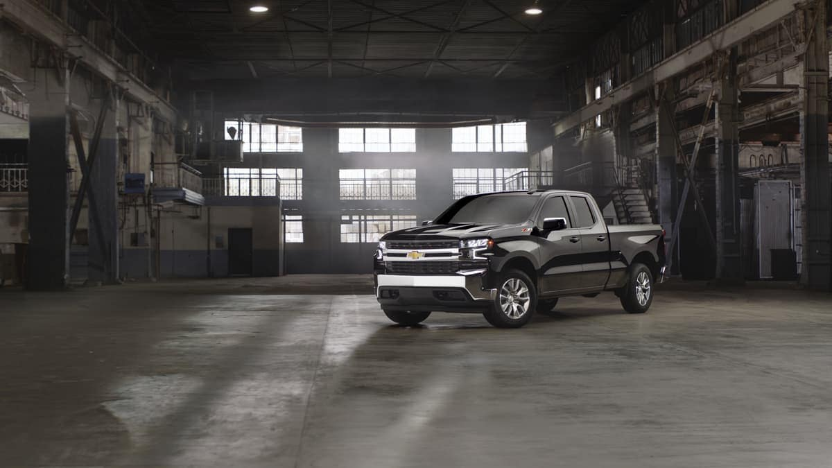 2019 Chevrolet Silverado at worksite