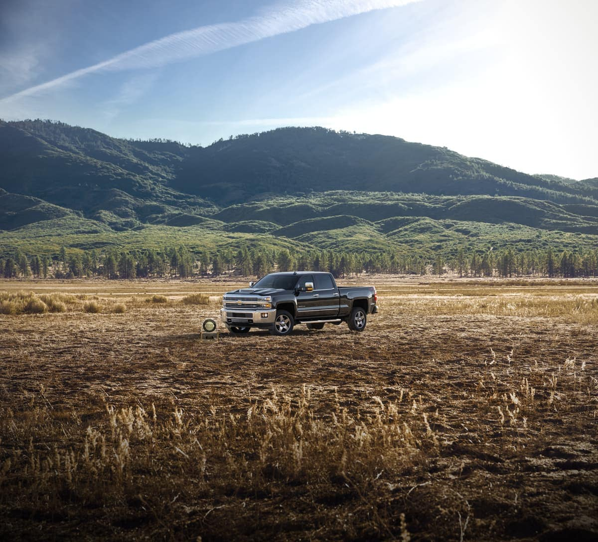 2019 Chevrolet Silverado in field