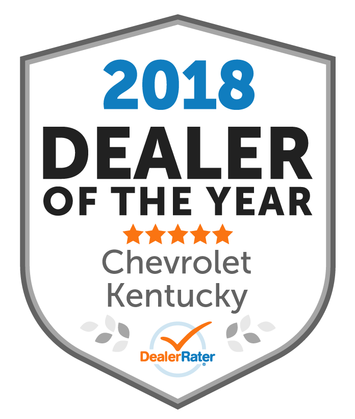 2018 DealerRater Dealer of the Year Chevy Kentucky