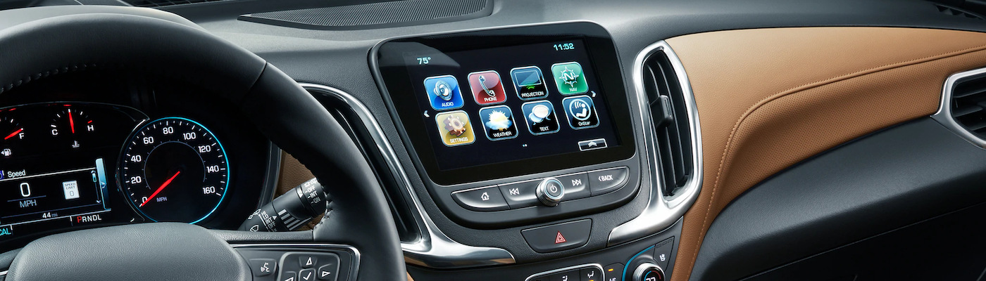 Chevrolet MyLink interface