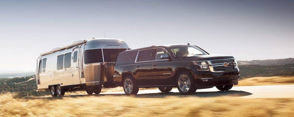 2020 Chevy Suburban Towing