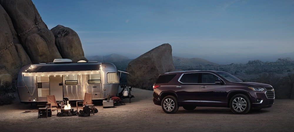 2020 Chevy Traverse Towing Camper