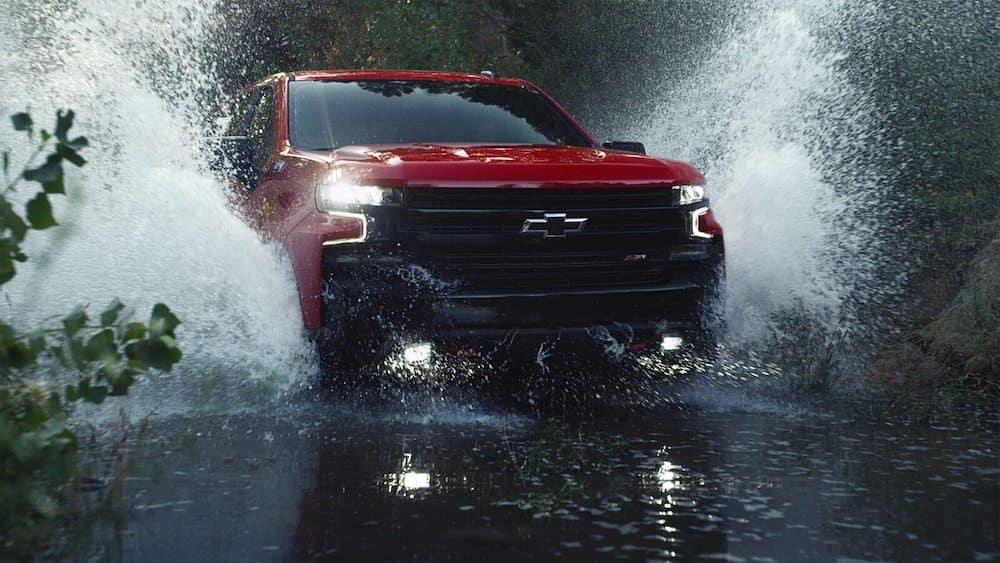 2020 Chevy Silverado 1500 in Water