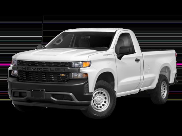 White 2020 Silverado 1500 WT