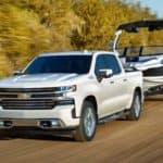 2020 Chevy Silverado 1500 Towing a Boat