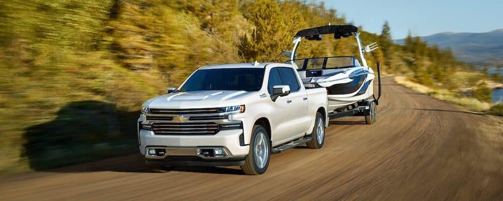 2020 Chevy Silverado 1500 Towing a Boat