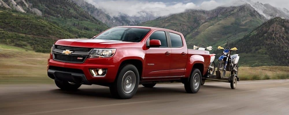 2020 Chevy Colorado Towing Dirt Bikes