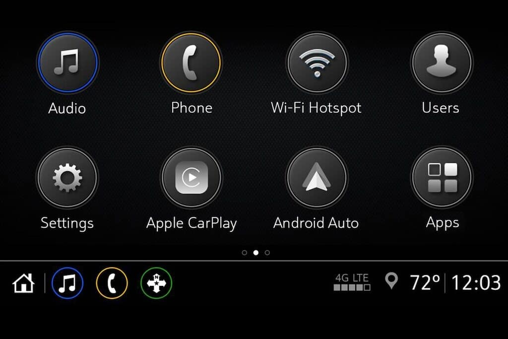 Chevy Infotainment 3 Apps Available