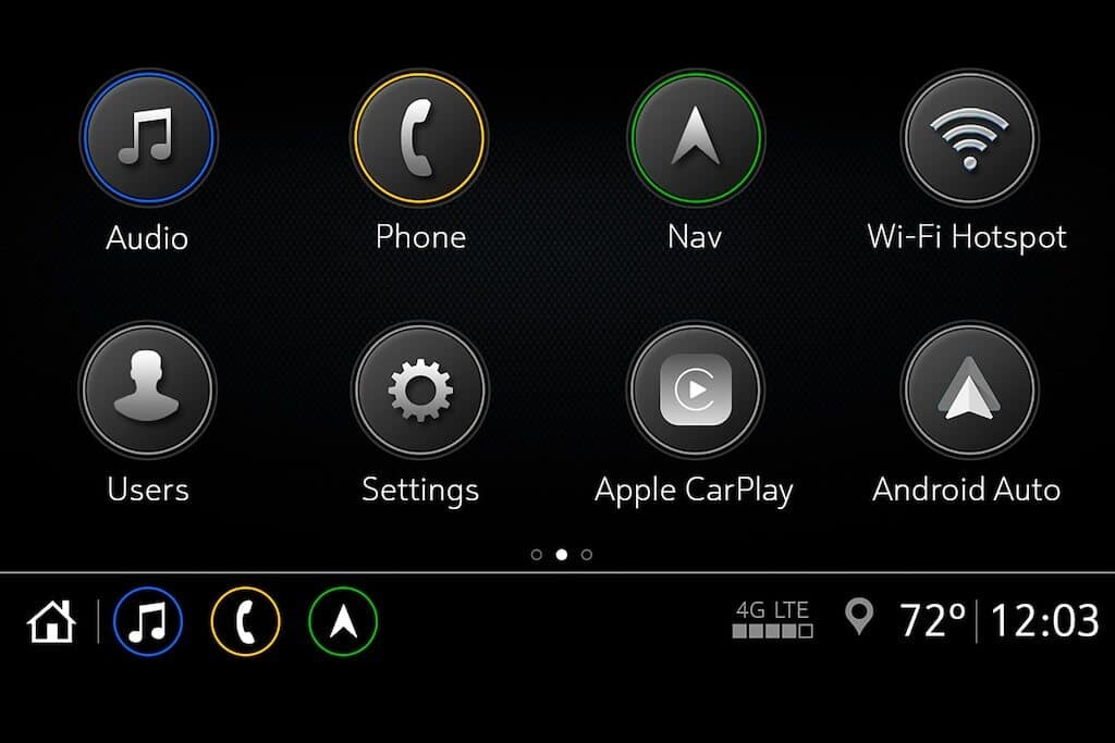 Chevy Infotainment 3 Arrange Apps
