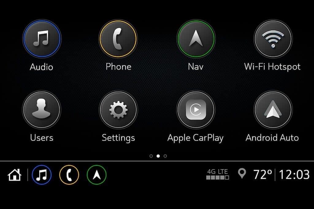Chevy Infotainment 3 Arrange Apps