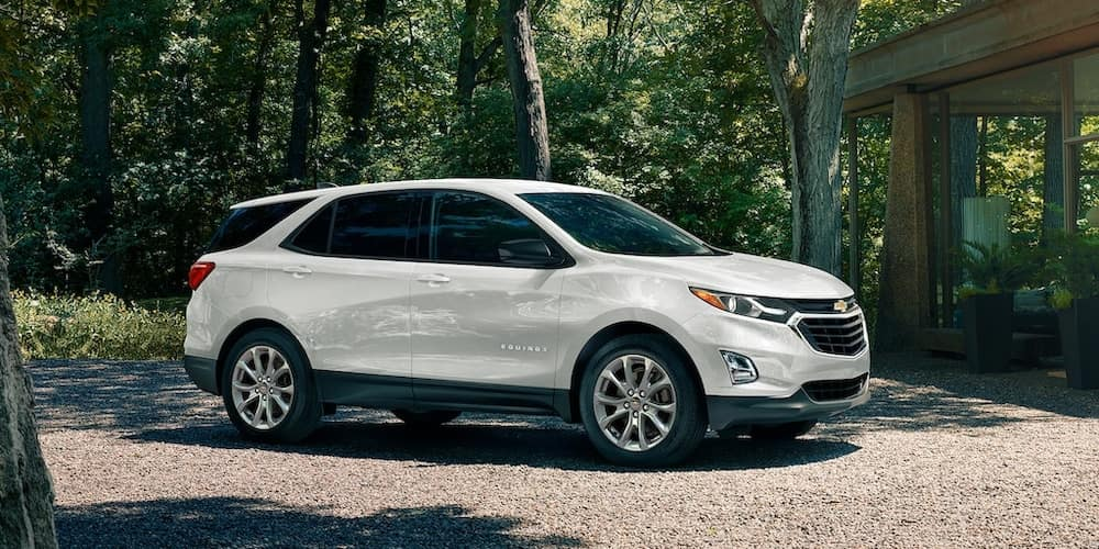 2020 Chevy Equinox in Wooded Area