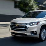 2020 Traverse on the road
