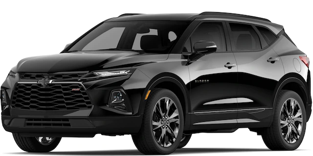 2020 Chevrolet Blazer in Black