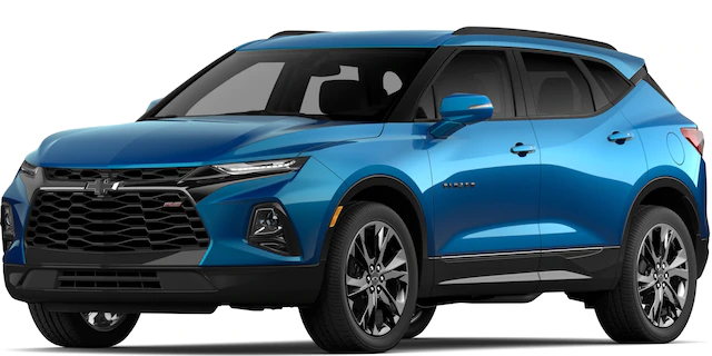 2020 Chevrolet Blazer in Bright Blue Metallic