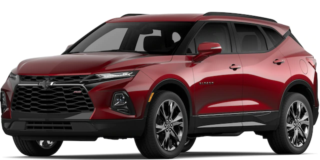 2020 Chevrolet Blazer in Cajun Red Tricoat