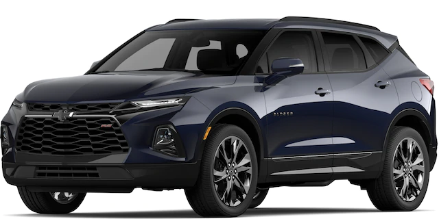 2020 Chevrolet Blazer in Midnight Blue Metallic