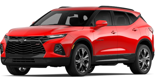 2020 Chevrolet Blazer in Red Hot